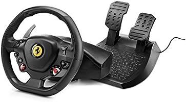 Thrustmaster Ferrari 488 GTB Edition - Replika av den verkliga Ferrari 488 GTB-ratten för Playstation 4 och PC -...