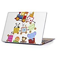 "MacBook Air 13inch 2018/2019モデル / A1932 専用ハードケース マックブック エア Mac 13"" インチ 専用 ケース カバー クリア アクセサリー 保護 (2010年 ~ 2017年モデル 非対応) 009780 乗り物 動物 キャラクター"