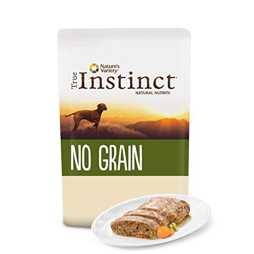 True Instinct No Grain - Nature s Variety - Terrina sin Cereales para Perros Medium-Maxi con Pollo - 300 gr - Pack de 8