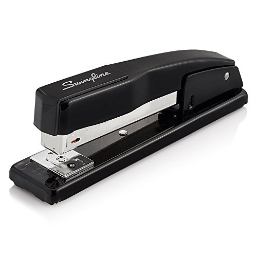 Swingline Stapler, Commercial Desktop Stapler, 20 Sheet Capacity, Portable, Durable Metal Desktop Stapler for Home Office Supplies, Classroom or Desktop Accessories, Black (44401)