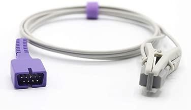 Compatible Nellcor Veterinary Spo2 Sensor Animal Ear Tongue Clip 9 Pins Connector FDA/CE Approved