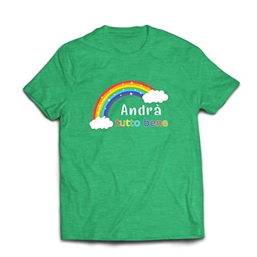 lepni.me Mannen T-shirt Andra Tutto Bene Е bevorderende zin van hoop