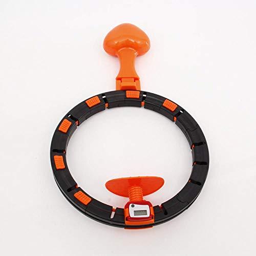 Review Hoop Online Celebrity Smart Hula Hoop Douyin Celebrity Style Thin Waist Hula Hoop Deconstruct...