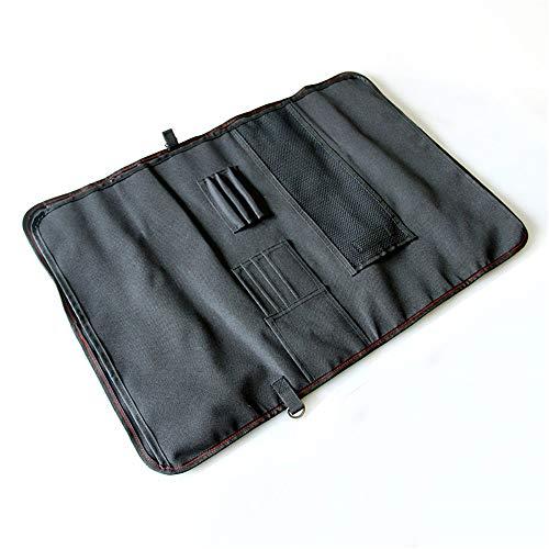 NINAINAI Western Food Knife Storage Bag Portable Kitchen Tool Storage Bag Tool Bag Tableware Bag Multifunctional Tableware Bag 12-piece Set Cutlery Storage Bag (Color : Blue, Size : 50x18x8cm)