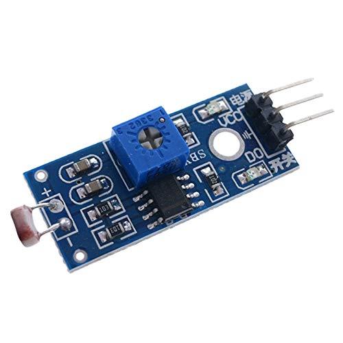TOOGOO MóDulo de DeteccióN de Resistencia Sensor Fotosensible para ElectróNica de Robot