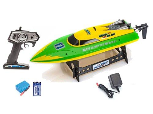 Outletdelocio. Lancha radiocontrol Lrp Deep Blue 340 Racing. 2,4Ghz. Insumergible. Antivuelco. Bateria...