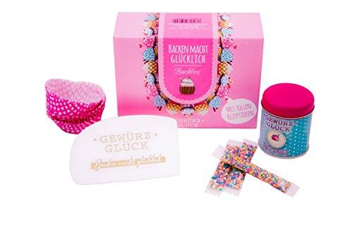 Gewürzglück Backen macht glücklich - Backbox - Geschenk für Backliebhaber & Bäcker