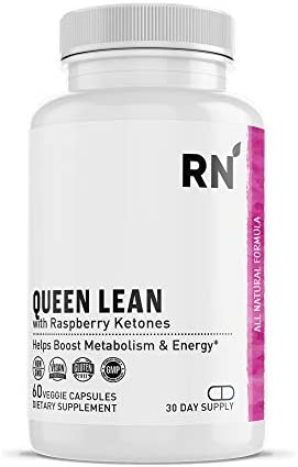 Queen Lean Weight Loss Supplement Raspberry Ketones Green Tea Garcinia Cambogia Caffeine Thermogenic product image