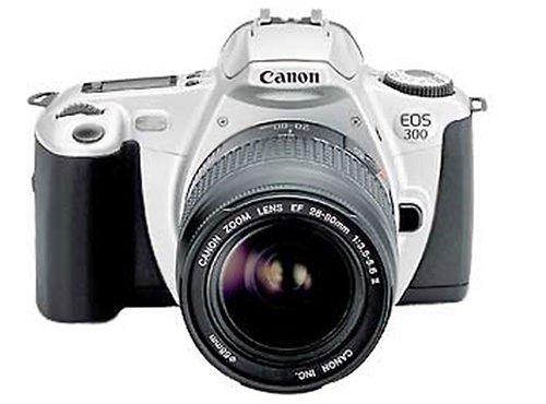 Canon EOS 300 - Cámara Digital réflex con Objetivo