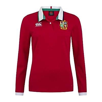 Canterbury of New Zealand Women's British and Irish Lions Long Sleeve Classic Jersey, Tango Red, 14 by Canterbury