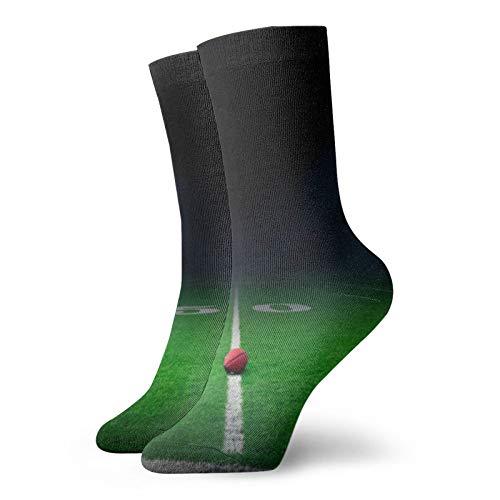 Calcetines cortos unisex para adultos de fútbol en el campo de algodón clásicos para hombre y mujer, para correr, fitness y deportes