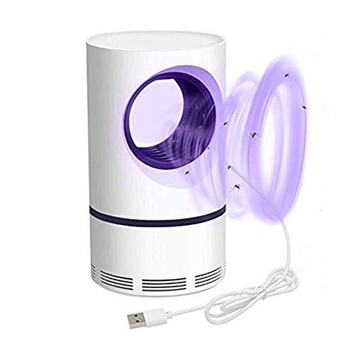 TENT-Z Lampe Anti-moustiques (2020) USB pour Chambre à Coucher Lampe Piège Moustique,UV Tue Mouches Destructeur d' Insectes Electrique 5W,Pas Bruit,Pas Rayonnement, Cuisine, Bureau