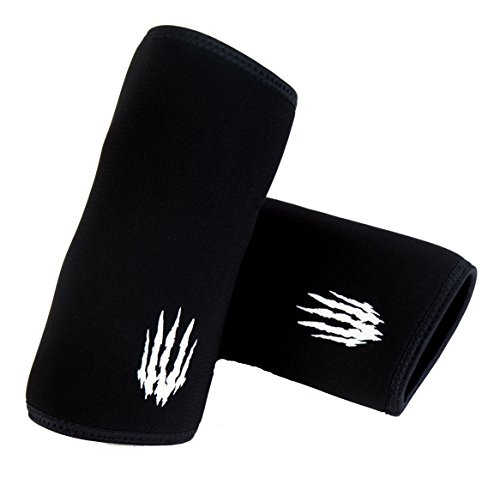 Bear KompleX Elbow Sleeves (SOLD AS A PAIR of 2) for weightlifting, powerlifting, wrestling, strongman, bench...