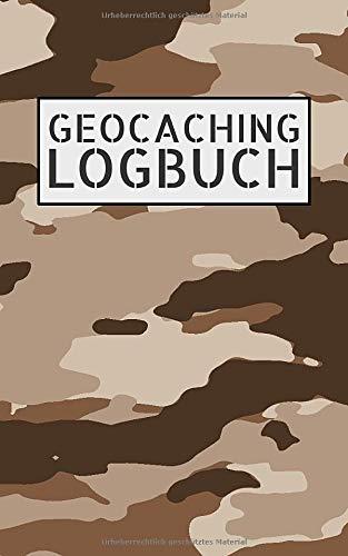 Geocaching Logbuch: Notizbuch und Logbuch für Geocacher - Geocaching Zubehör und Ausrüstung Nano - Log mit Platz für 200 Eintragungen - Geocach Buch für Flasche oder Dose als Versteck