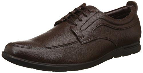 BATA Men's Haden Brown Formal Shoes - 8 UK/India (42 EU)(8244019)