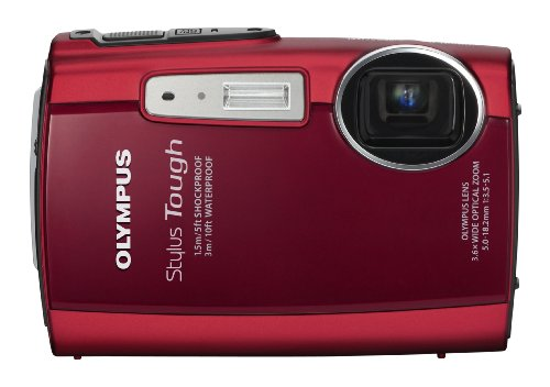 Buy Bargain Olympus Stylus Tough 3000 12 MP Digital Camera with 3.6x Wide Angle Zoom and 2.7-inch LC...