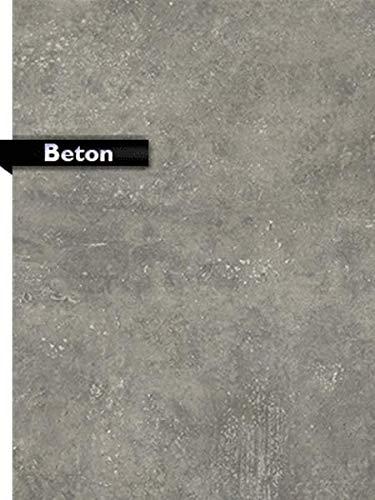 Treppen-Renovierungsstufe im Dekor Beton, Musterstufe, Probestück ca 20 cm x 20 cm.