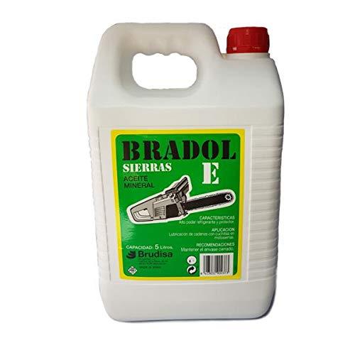 Bradol Aceite Mineral para cadena de Motosierrra 5L