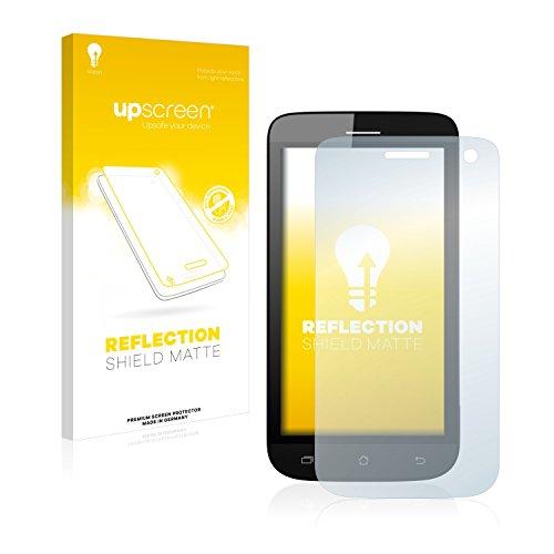 upscreen Entspiegelungs-Schutzfolie kompatibel mit Archos 40 Helium – Anti-Reflex Bildschirmschutz-Folie Matt