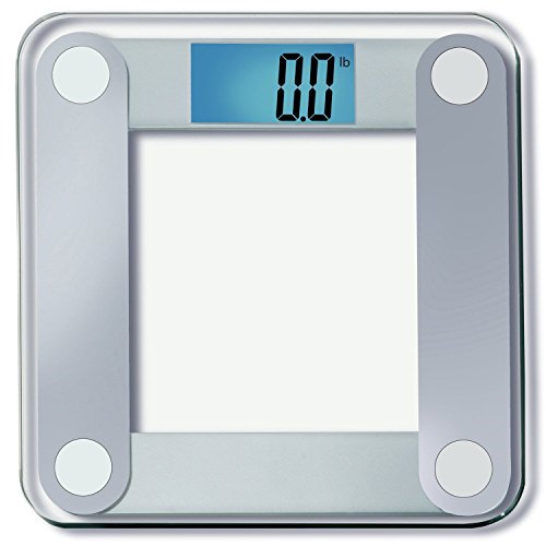 EatSmart Precision Digital Bathroom Scale w/ Extra Large Lighted Display, 400 lb Free 1 yr Protection From Assurant