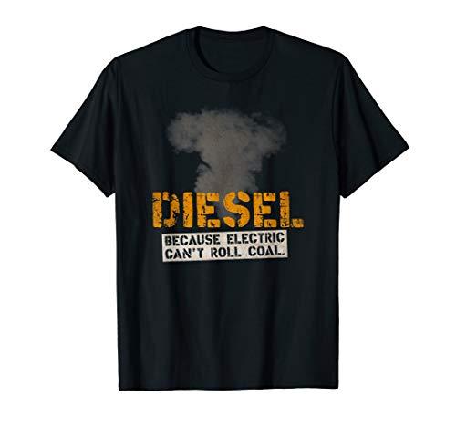 """Diesel Roll Coal"" T-shirt for Diesel Mechanics & Truckers"