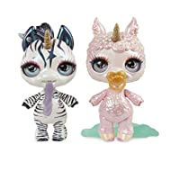 Feed Poopsie Sparkly Critters water and they magically spit or poop slime Each Sparkly Critter is an adorable animal with a sparkly unicorn horn Unbox the sparkly soda pop can to find so many surprises inside. Transform slime by adding Unicorn Magic,...