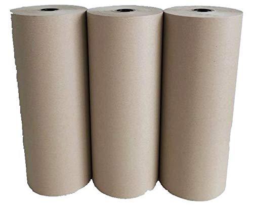 Schrenzpapier Verpackungspapier 3 Rollen 80 g/m² 50 cm 250lfm 10 kg