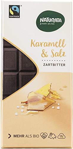 Naturata Bio Chocolat Caramel-Sel (2 x 100 gr)
