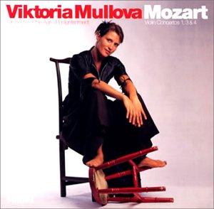 モーツァルト:ヴァイオリン協奏曲第1番・第3番・第4番