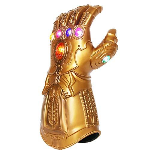 UrMsun Iron Man Infinity Gauntlet para niños con...