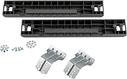 """Price comparison product image Lifetime Appliance Stacking Kit Compatible with Samsung Washer & Dryer - 27"""" Front Load Laundry SKK-7A,  SK-5A,  SK-5AXAA"""