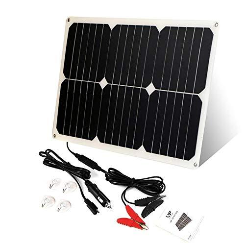 Meaningful Solar Panel Battery Maintainer Solarzelle Auto Boot Power Panel Ladegerät Wartung für Auto Motorrad Traktor Boot Batterien 12V Batterien
