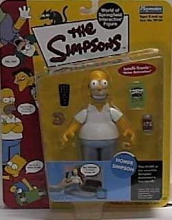The Simpsons World of Springfield Series 1 Homer Simpson Figure