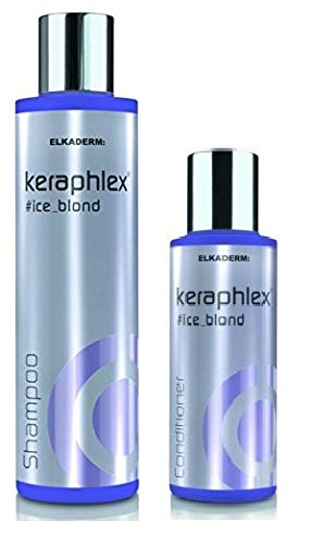 Elkaderm KERAPHLEX ice_blond shampoo 200 ml & conditioner 100 ml
