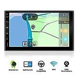 YUNTX Android 9.0 Double Din Autoradio - GPS 2 Din - Caméra arrière GRATUITES - 7 Pouce - Soutien Dab+ / Commande au Volant / 4G...
