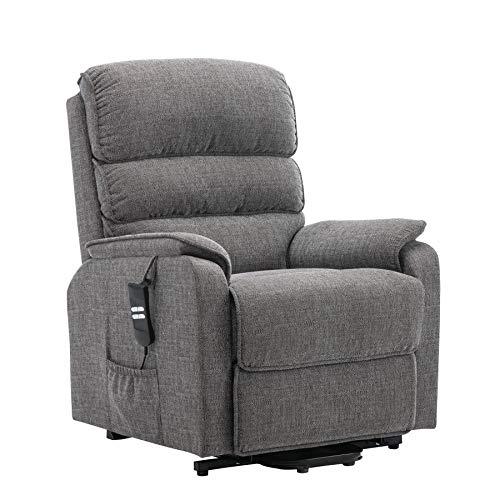 Henley Riser Recliner Mobility Chair, Dual Motor, Heat & Massage