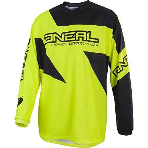 Oneal MATRIX JERSEY Equipación para Montar En Bicicleta y Motocross, XXL, Amarillo