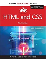 HTML and CSS: Visual QuickStart Guide, 9th Edition Front Cover