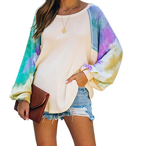 Material:65%Polyester+35%Cotton, Fabric provides stretch.Versatile piece useful as a light cardigan,comfortable, super soft. Style: V Neck,Off the shoulder,Color Block,Long sleeve,Oversized,Striped,,Loose Fit, Knit Baggy,Batwing Sleeve,Waffle,Jumpe...