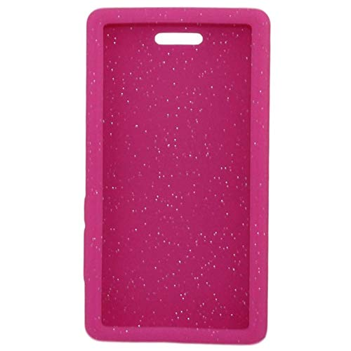 "Omnipod"" Dash Gel Skin- Soft Silicone Cover Designed to Protect The Omnipod Dash Device (Pink Glitter)"