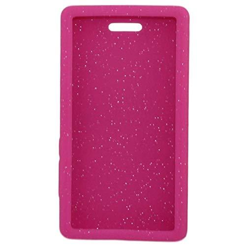 "Omnipod"" Dash Gel Skin- Soft Silicone Cover Designed to Protect The Omnipod Dash Device (Pink Glitter)"