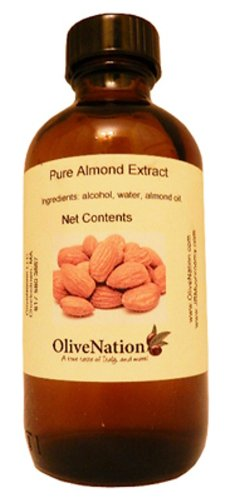 OliveNation Pure Almond Extract - 16 ounces - Strong flavor - Great for cookies, pies, muffins and cakes - baking-extracts-and-flavorings