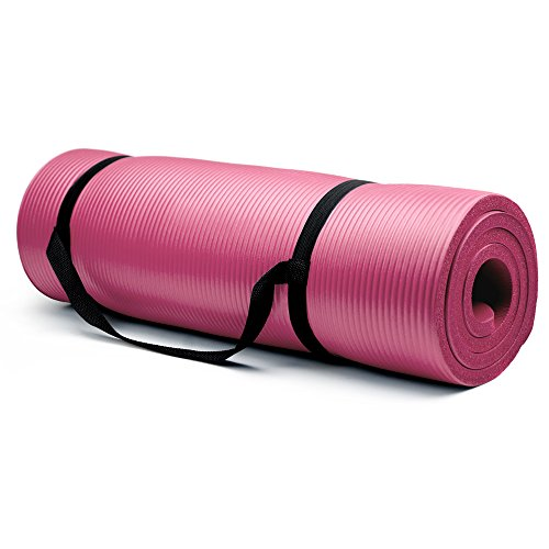 Crown Sporting Goods 5/8-Inch Extra Thick Yoga Mat