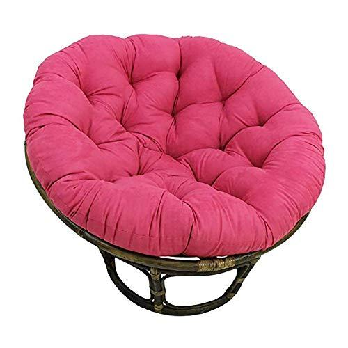 Yxxc Thicken Round Papasan Chair Cushion Swing Chair Mat Pillow for Rocking Chair Pad Hanging Hammock,Egg Nest Chair Cushion K Diameter130cm