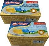 ニュージーランド産 グラスフェッドバター フォンテラ無塩ポンドバター 454gx2個セット【冷凍】