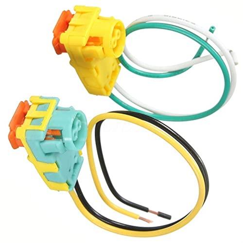 SZDZ 2 unids conector de repuesto para airbag Airbag para el conductor de la rueda Airbag con insertos