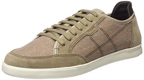Geox Herren U WALEE A Sneaker, Beige (Sand), 45 EU