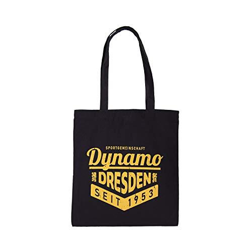 SG Dynamo Dresden Stoffbeutel Dynamo Dresden schwarz