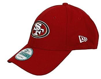 New Era Men s Scarlet San Francisco 49ers The League 9FORTY Adjustable Hat