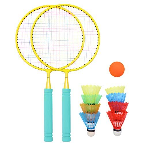 Tomaibaby Kinder Tennisschlägerset Tennisschlägerset Junior Tennisschläger Spiel Strandspielzeug für Kinder Strand Rasen Spiel Spielen